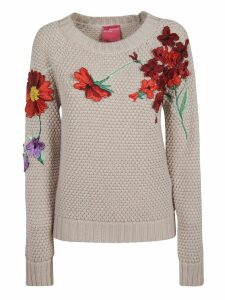 Blumarine Floral Detail Sweater