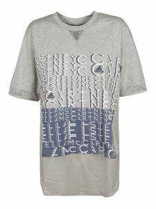 Adidas Front Logo Print T-shirt