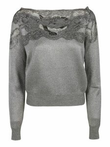 Ermanno Scervino Laced Detail Jumper