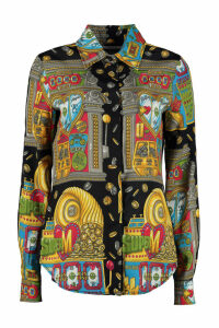 Moschino Printed Viscose Shirt