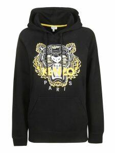 Kenzo Logo Tiger Front Hoodie