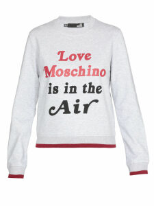 Love Moschino Printed Sweatshirt