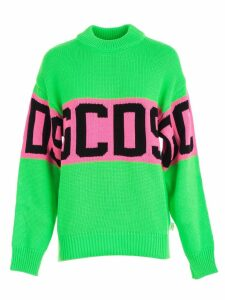 GCDS Sweater L/s Colorful Logo