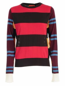 Colville Sweater L/s W/stripes