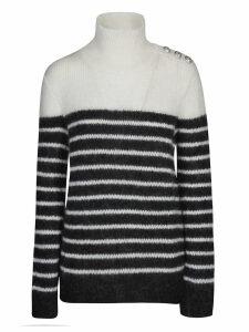 Balmain Striped Sweatshirt