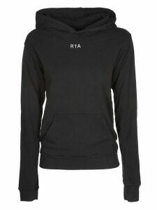 RTA Logo Printed Hoodie