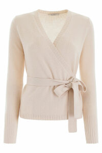 Max Mara Knut Wrap Knit Top