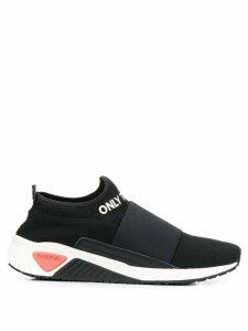 Diesel slip-on sock sneakers - Black