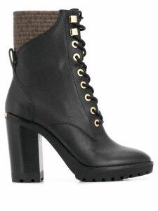 Michael Michael Kors logo lined boots - Black