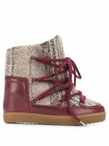 Isabel Marant Nowles boots - Red