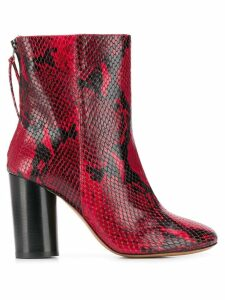 Isabel Marant Garett boots - Red