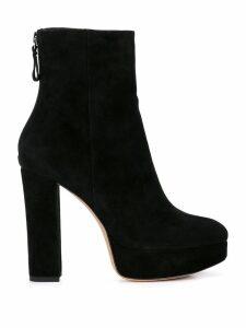 Alexandre Birman block heel ankle boots - Black