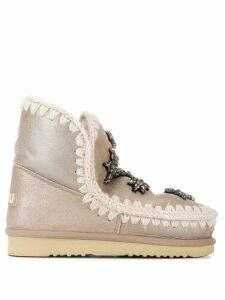 Mou Eskimo boots - GOLD