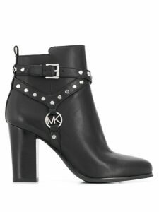 Michael Michael Kors studded ankle boots - Black