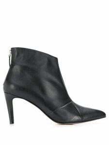 Parallèle matte finish boots - Black