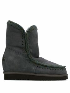 Mou Inner Wedge boots - Grey