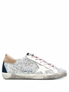 Golden Goose embellished low top sneakers - SILVER