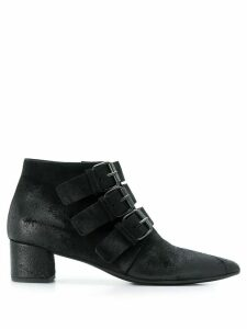 Marsèll triple buckle ankle boots - Black