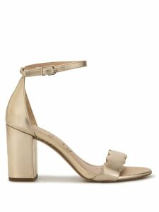 Sam Edelman Odila scalloped strap sandals - GOLD
