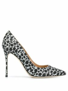 Sergio Rossi Godiva animal-print pumps - Black