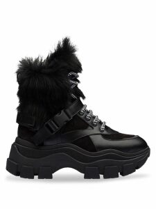 Prada Block high top sneakers - Black