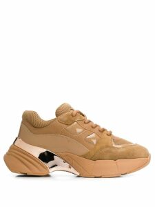 Pinko chunky sole sneakers - Brown