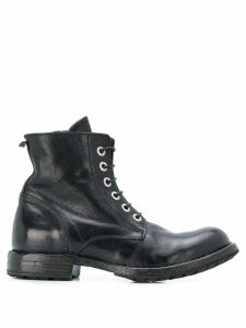 Moma lace up boots - Black