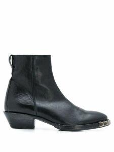 Moma Mexico city boots - Black