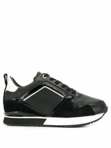 Tommy Hilfiger leather lace-up sneakers - Black
