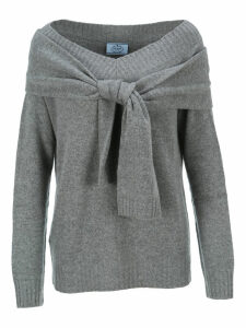 Prada Knot Detail Sweater