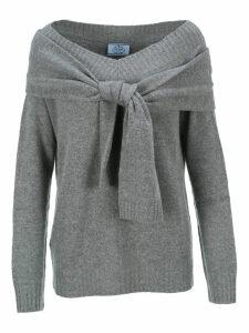Prada Knot Detail Sweater