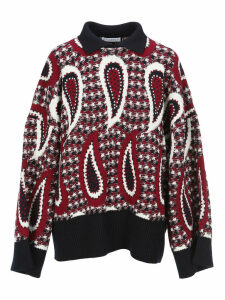 Jw Anderson Paisley Intarsia Sweater