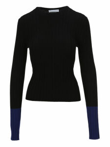 Jw Anderson Two-tone Sleeve Sweater