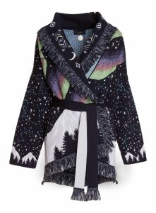 Alanui Circle Of Life Jacquards Cardigan