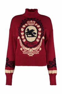 Etro Pegasus Intarsia Sweater
