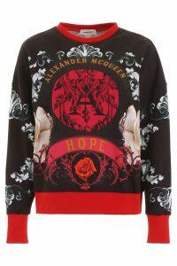 Alexander McQueen Printed Sweatshirt
