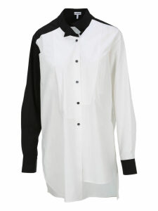 Loewe Two Tone Long Asymmetric Shirt