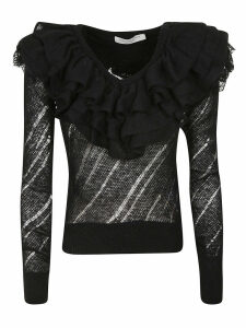 Philosophy di Lorenzo Serafini Ruffled Top
