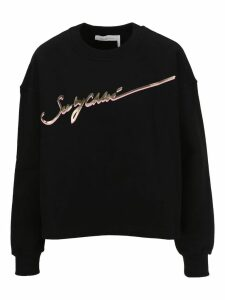 See by Chloé See By Chloe Signature Logo Sweatshirt