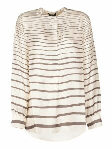Theory Painted Stripe Top