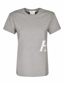 Helmut Lang Side Logo Print T-shirt