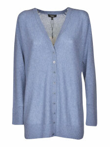 Theory V-neck Buttoned Cardigan