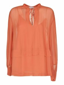 Calvin Klein Double-layered Blouse
