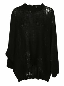 R13 Frayed Knitted Jumper