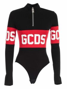 GCDS Body L/s Collar Band Logo