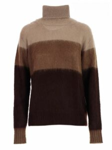 Golden Goose Sweater L/s Turtle Neck Tricolour