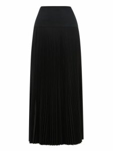 Joseph - Bryanna Drop-waist Pleated Midi Skirt - Womens - Black