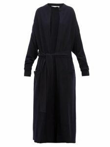 Extreme Cashmere - No.105 Big Coat Stretch Cashmere Cardigan - Womens - Navy