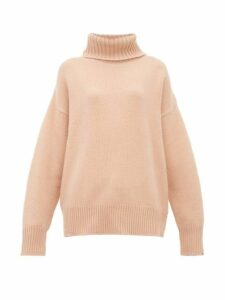 Extreme Cashmere - No.20 Oversize Xtra Stretch-cashmere Sweater - Womens - Light Pink