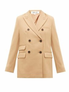 Diane Von Furstenberg - Atlas Crepe Jacket - Womens - Camel
